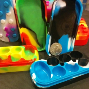 Monster silicone dab containers in stock!