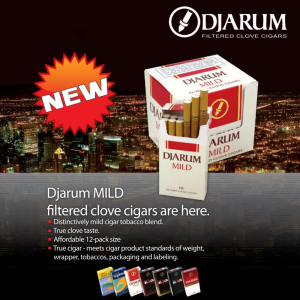 Djarum Milds, flying over a huge city near you soon!