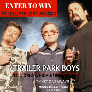 Win tickets to see the Trailer Park Boys